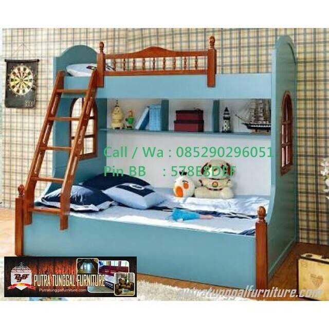 Tempat Tidur Anak Minimalis Tingkat